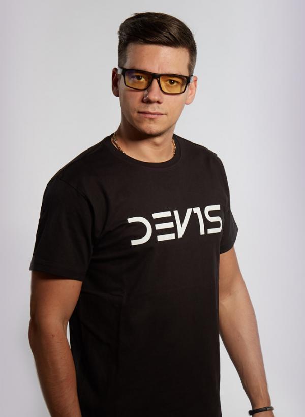 Tričko Dev1s černé