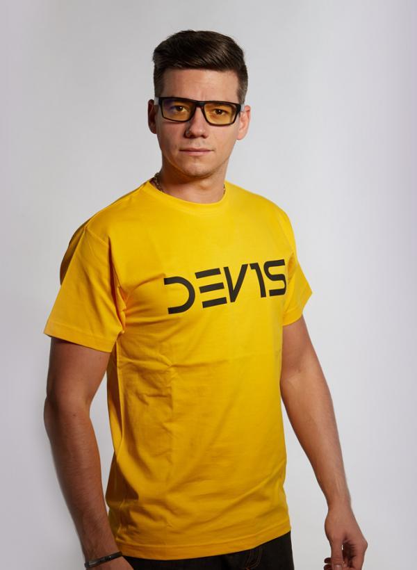 Tričko Dev1s žluté